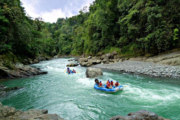 Pacuare Fluss, Costa Rica