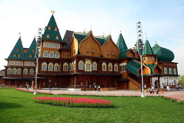 Palace in Kolomenskoe, Russia