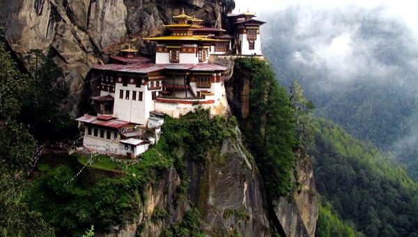 Taktsang-Lakhang Kloster, Bhutan