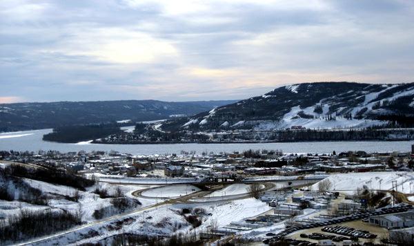 Пис-ривер, Канада