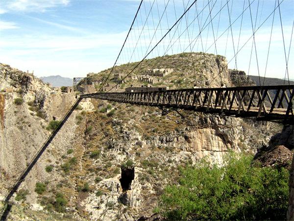 Мост Охуэла, Мексика