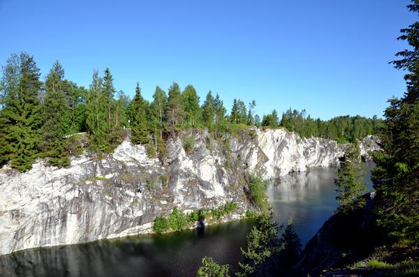 Ruskeala Marmorsteinbruch, Russland
