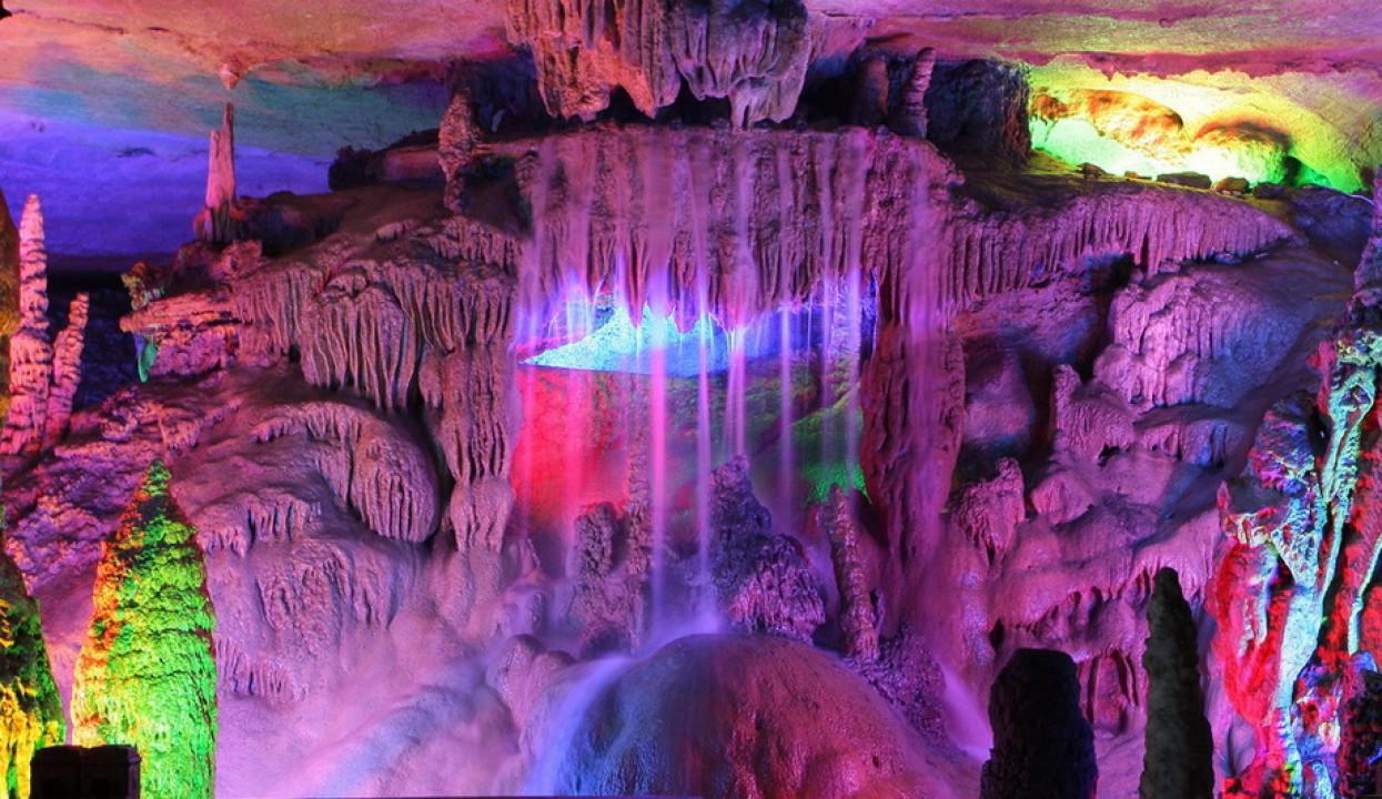 Höhle der Rohrflöte, China