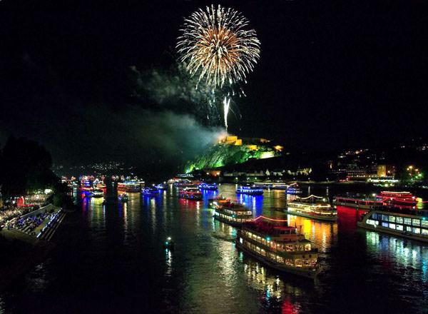 Фестиваль «Огни Рейна», Германия