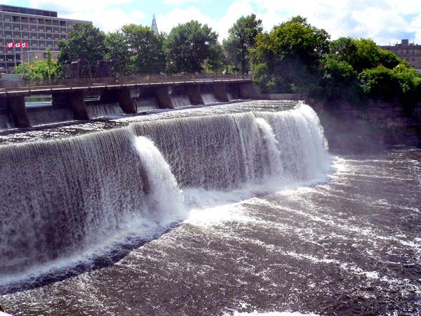 Водопады Ридо, Канада