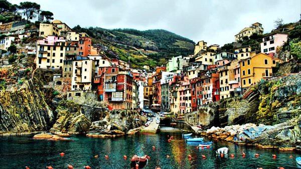 Riomaggiore Town, Italy
