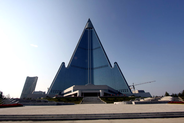 Ryugyong Hotel Tower, North Korea