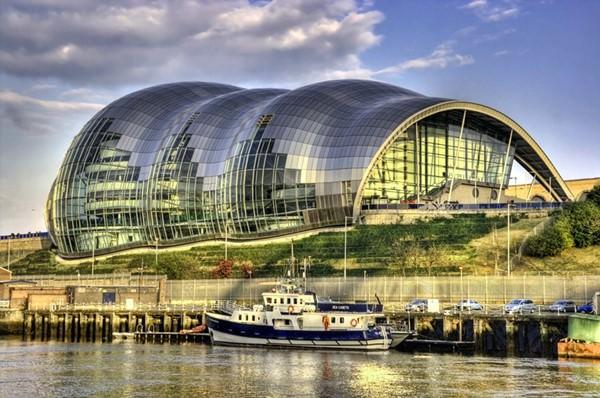 Центр исполнительных искусств Сейдж Гейтсхед, Великобритания