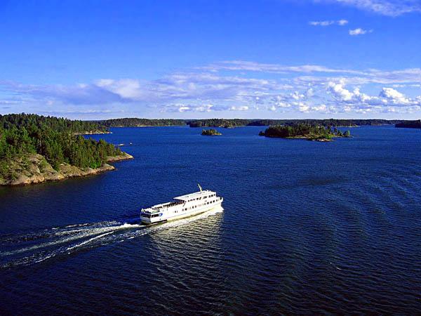 Saimaan Kanal, Finnland - Russland