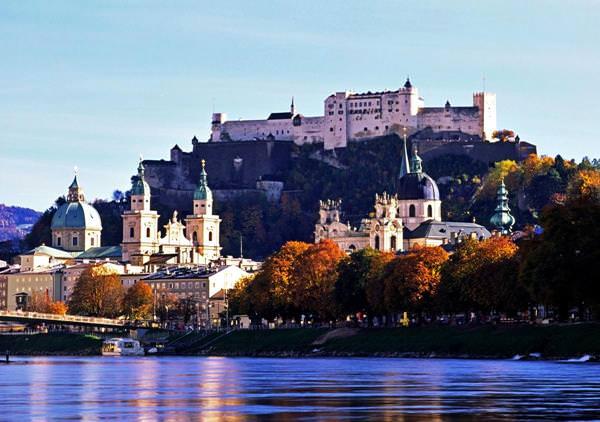 The Historic Center of Salzburg, Austria