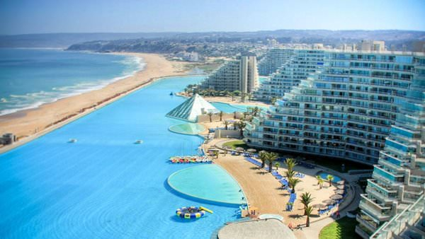 San Alfonso del Mar Pool, Chile