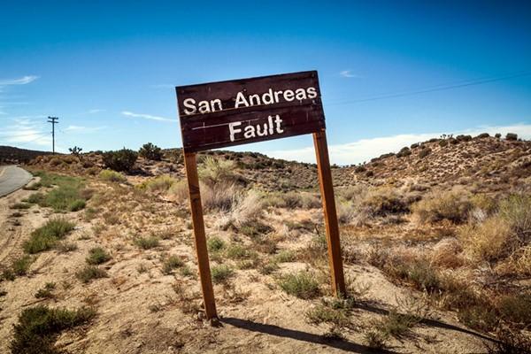 Разлом Сан-Андреас, США