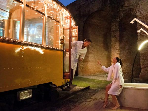 Sauna-Tram, Italy