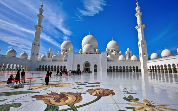 Sheikh Zayed Mosque, United Arab Emirates