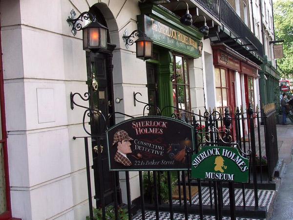 Sherlock Holmes Museum  Die PromiHäuser, die für Besuch geöffnet