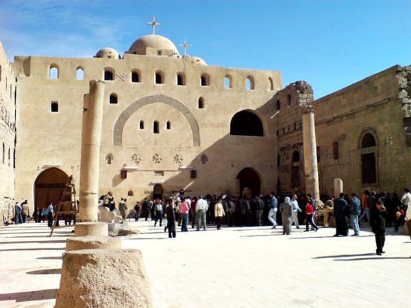 Schrein der Stadt Sohag, Ägypten