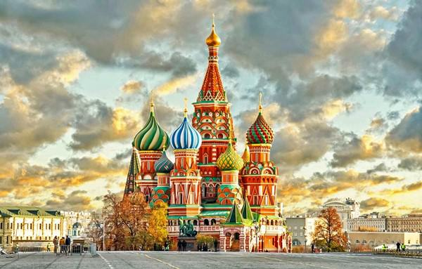 St Basil Cathedral, Russia