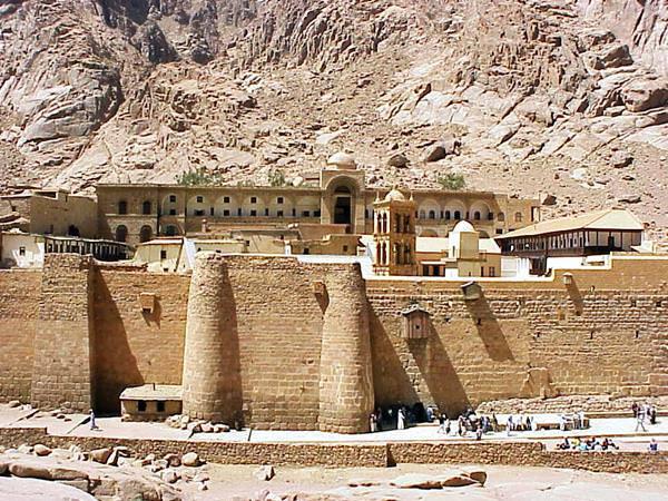 Das Katharinenkloster, Ägypten