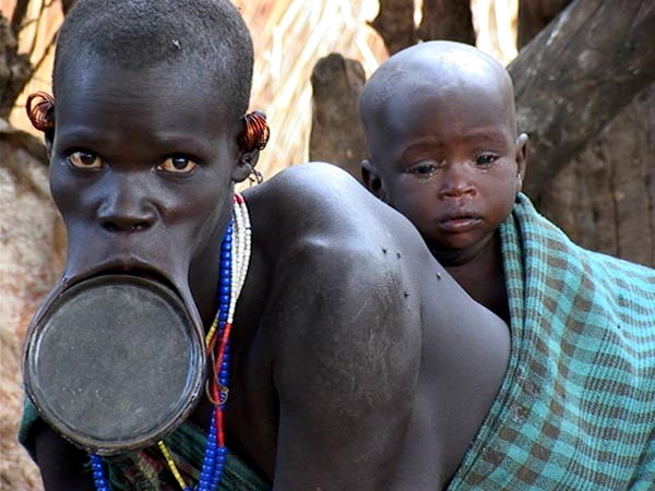 Surma People, Kenya-Ethiopia