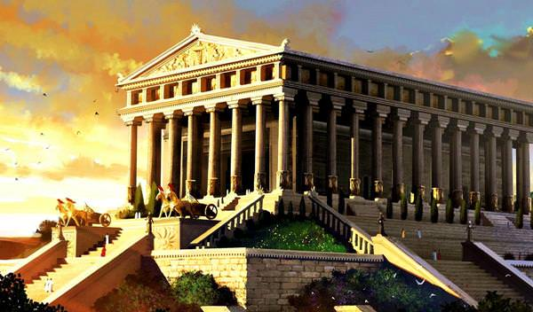 Храм Артемиды в Эфесе, Турция