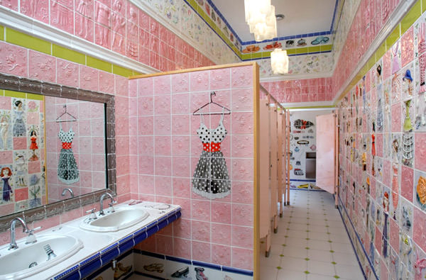 Toilet at Kohler Arts Center, Vereinigte Staaten