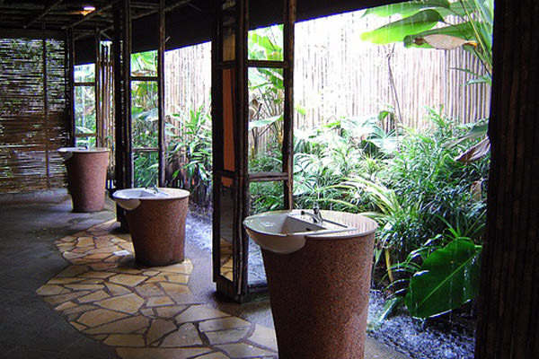 Toilet in Singapore Zoo, Singapore