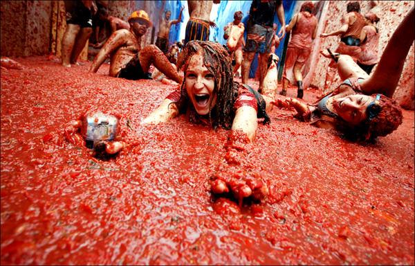 El Festival La Tomatina, España