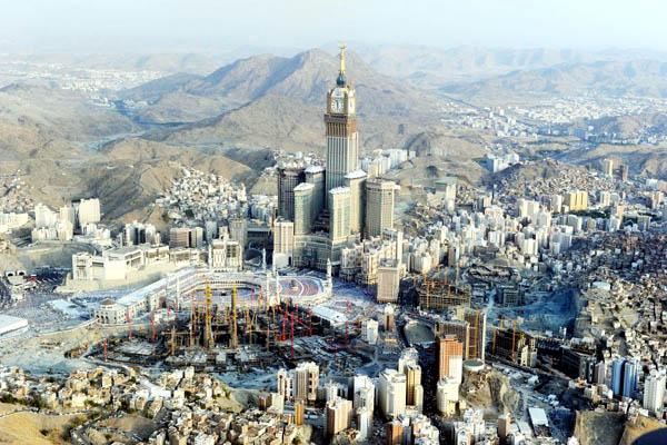Tower Abraj al-Bait, Saudi Arabia