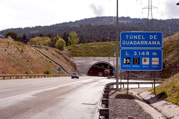 El Tunel Gudarrama, España