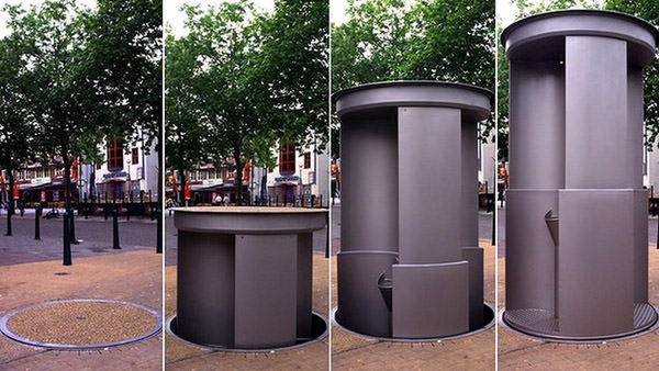 WC-Aufzug Urilift, Vereinigtes Königreich