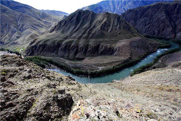 Cuenca del Uvs Nuur, Rusia
