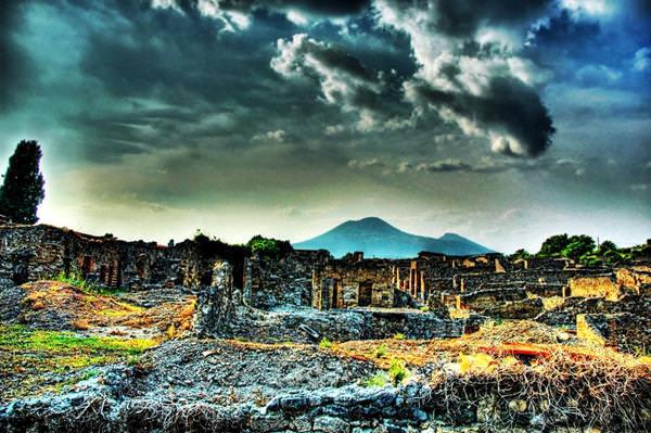 Volcán Vesubio, Italia