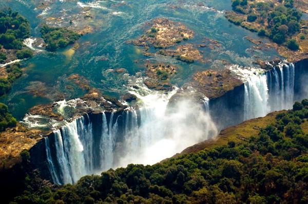 Victoria Wasserfall, Sambia - Simbabwe