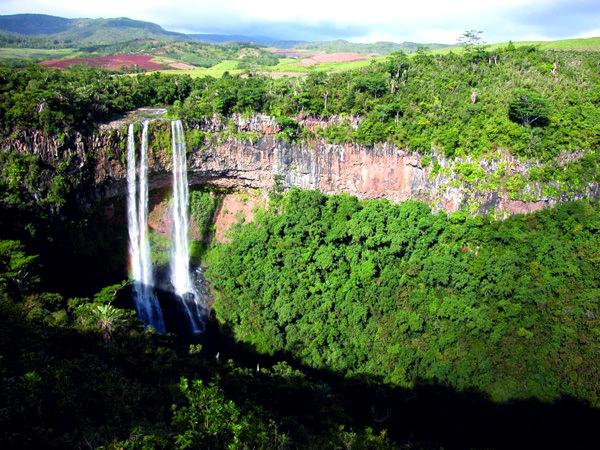 Tamarin Wasserfälle, Mauritius