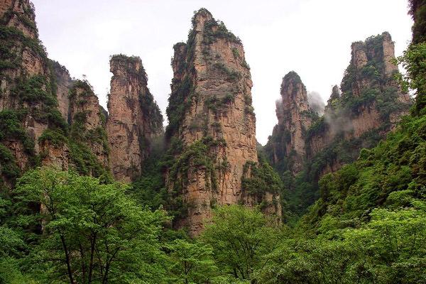 Горы Улинъюань, Китай