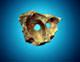 14 von 15 - Maske Meteorit, Botswana