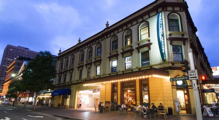 Foto of the Capitol Square Hotel, Sydney