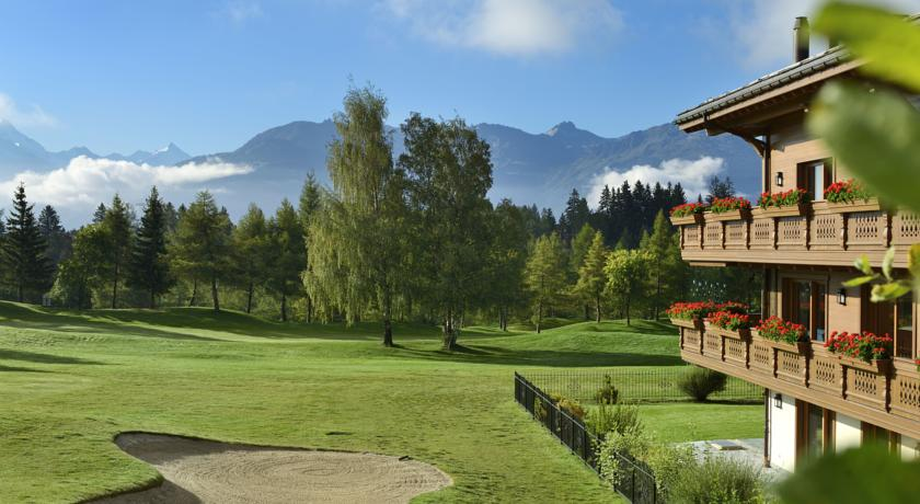 Foto of the Guarda Golf Hotel, Crans Montana