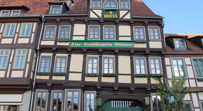 Foto of the Hotel zur goldenen Sonne, Quedlinburg