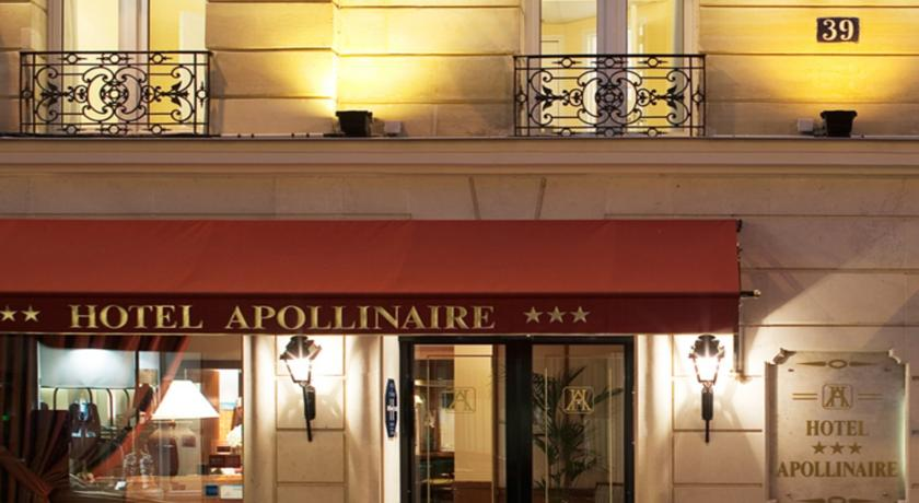 Foto of the hotel Apollinaire, Paris
