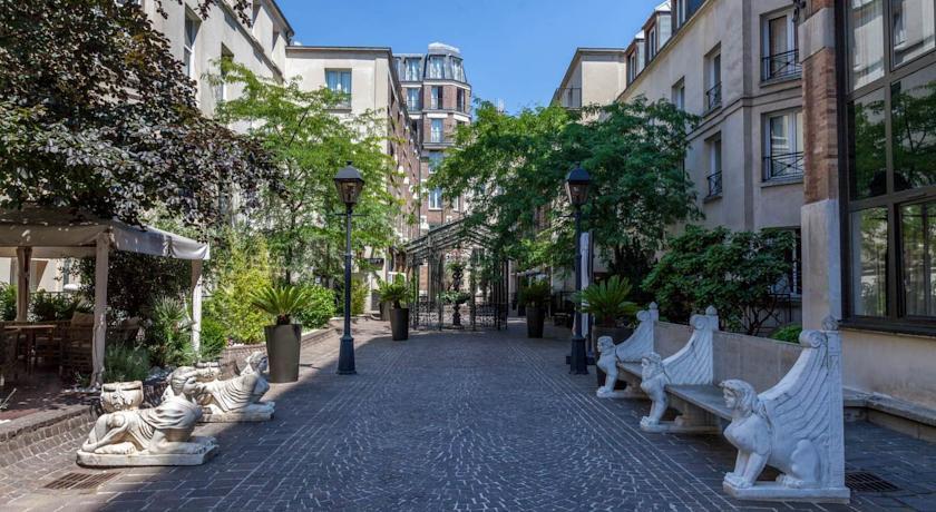 Foto of the hotel Les Jardins Du Marais, Paris