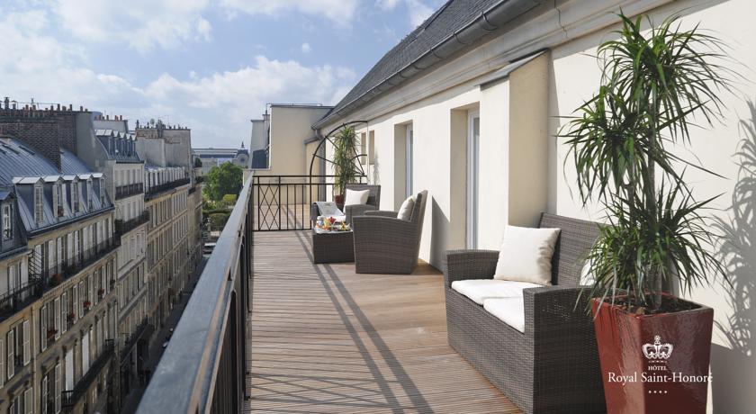 Foto of the hotel Royal Saint Honore, Paris