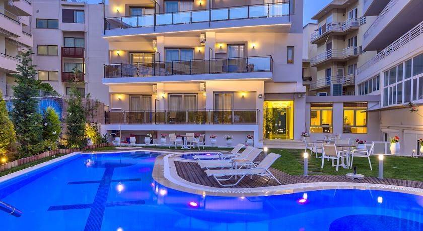 Foto of the Leonidas Hotel & Apartments, Rethymno