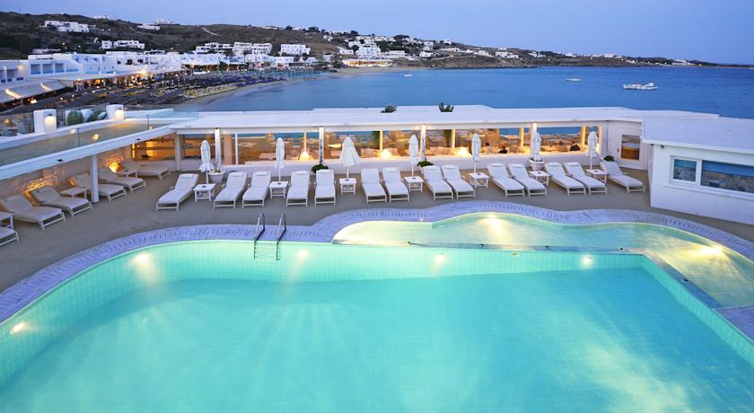 Foto of the Petinos Beach Hotel, Platis Yialos