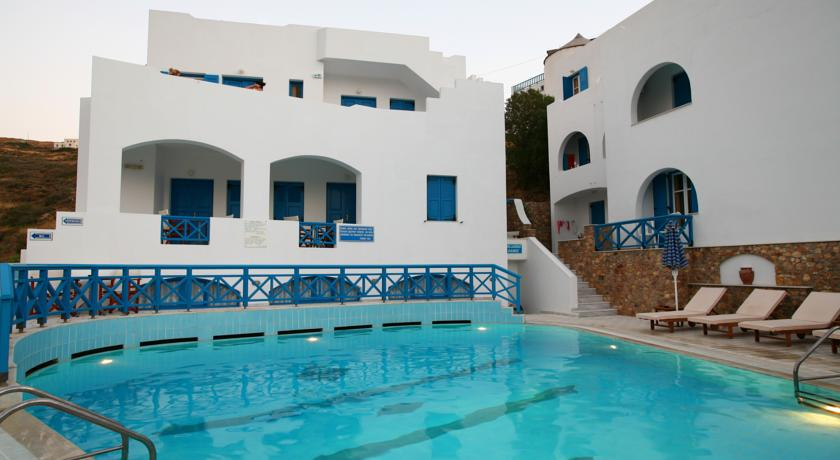 Foto of the Poseidon Hotel, Yialos (Ios Island)