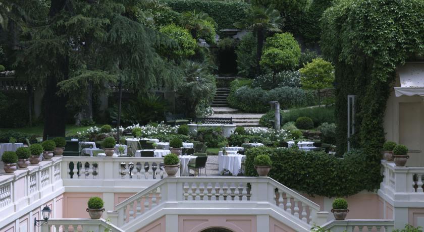 Foto of the Hotel De Russie, Rome