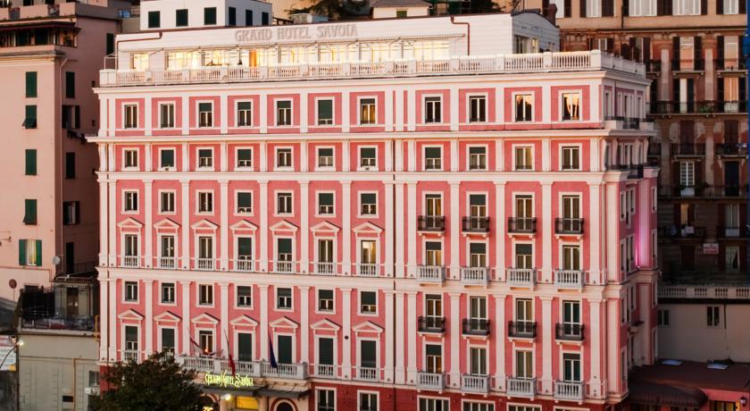 Foto of the Grand Hotel Savoia, Genova