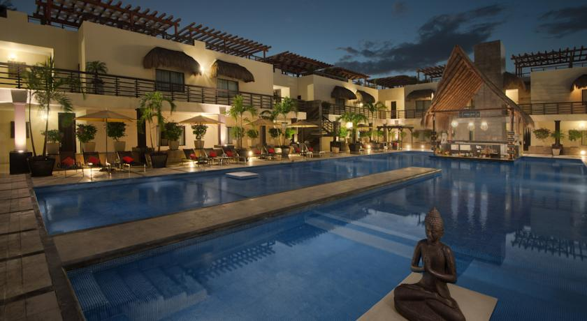 Foto of the Aldea Thai Luxury Condo Hotel, Playa del Carmen (Quintana Roo)