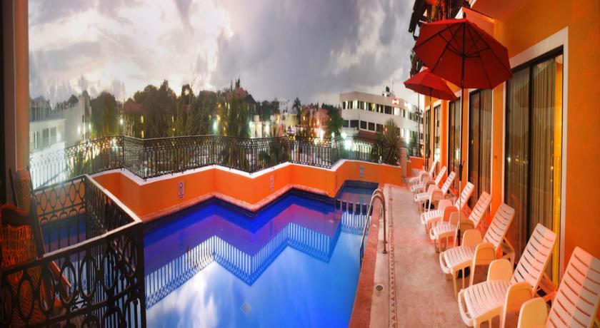 Foto of the Caribbean Paradise Hotel, Playa del Carmen (Quintara Roo)