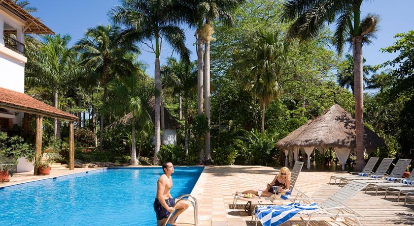 Foto of the Mayaland Hotel & Bungalows, Chichen Itza (Yucatan)